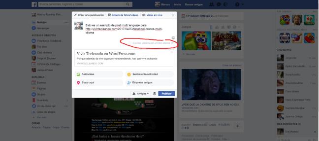 Facebook multi lang post 1