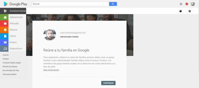 Google Play Family 3