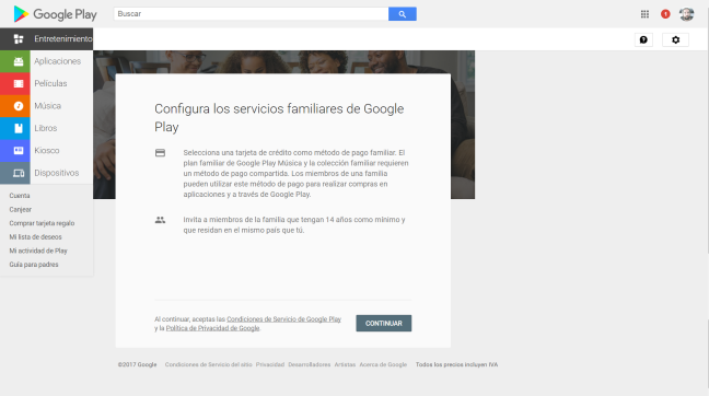 Google Play Family 4